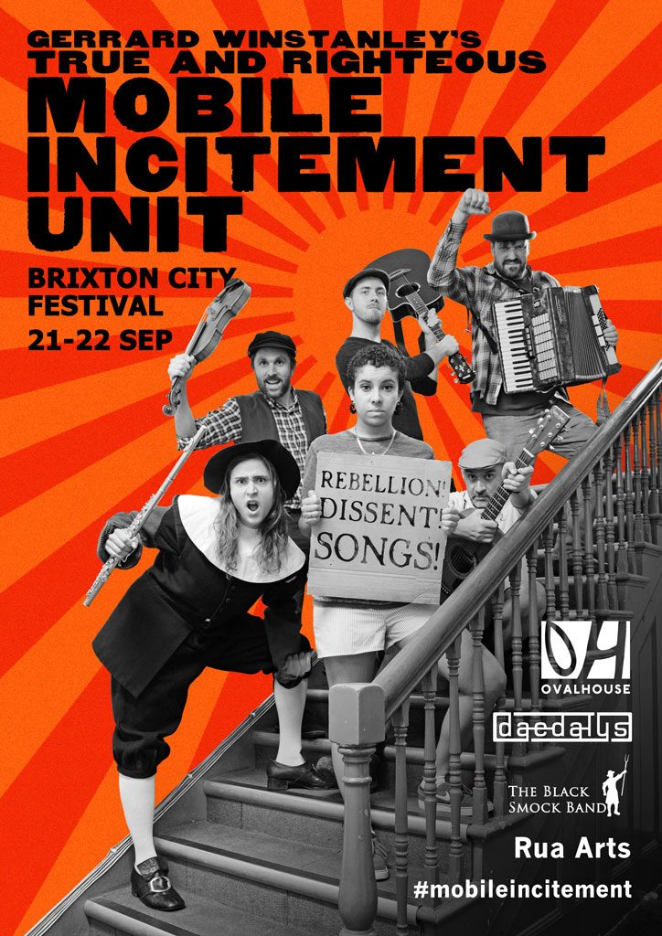 Mobile Incitement at Brixton City Fest 21-22 Sep 2017